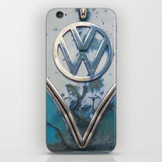Blue Rusty VW iPhone & iPod Skin