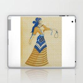 Minoan Woman Laptop & iPad Skin