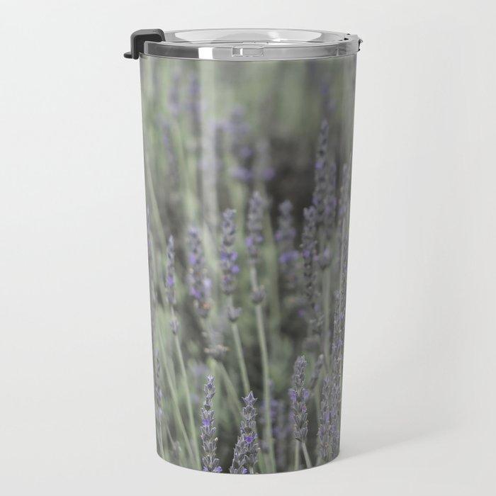 French Lavander Fields Travel Mug