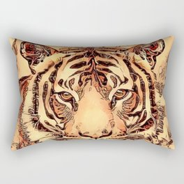 Animal ArtStudio- amazing Tiger Rectangular Pillow