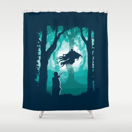 Return Of The Soulless Shower Curtain