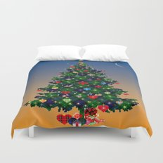 Make A Holiday Wish Duvet Cover