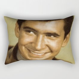 Anthony Perkins Rectangular Pillow