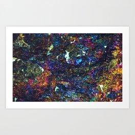 Chalcopyrite Remix Art Print