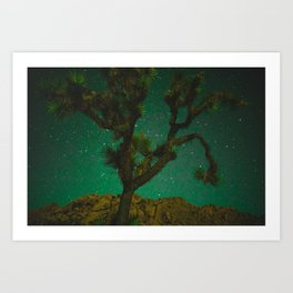 One with Celestial Tree Art Print