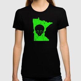 UFO Experience Investigator UFO Minnesota T-shirt