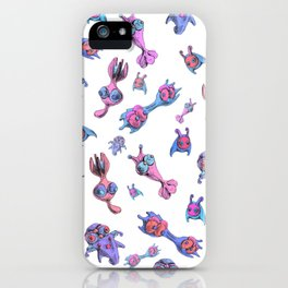 Simple forms of life iPhone Case