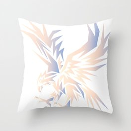 Eagle Flying Throw Pillow