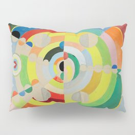 "Robert Delaunay ""Relief-Disques"" Pillow Sham"