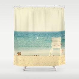 Lake Ontario Beach Shower Curtain