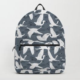 Soaring Wings - Steel Blue Grey Backpack