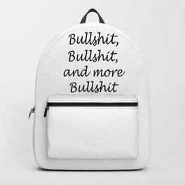 Bullshit x3 Backpack