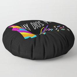 ¡Ay Dios Mio!  Piñata Problems Floor Pillow