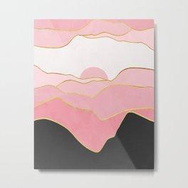 Minimal Landscape 02 Metal Print