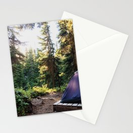 Home Is Where the Tent Is Stationery Cards