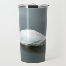 White swan Travel Mug
