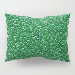 Moss Green Fairy Forest Texture Pillow Sham