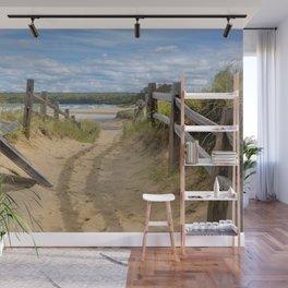 Beach Path Wall Mural