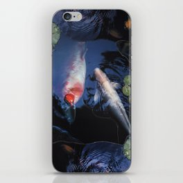 Hawaiian Koi Pond iPhone Skin