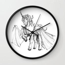 Dragonicorn Wall Clock