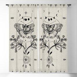 Magical Moth Blackout Curtain