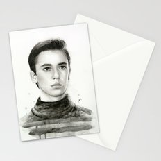 Wesley TNG Stationery Cards