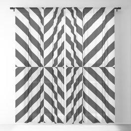 Chevronish Sheer Curtain