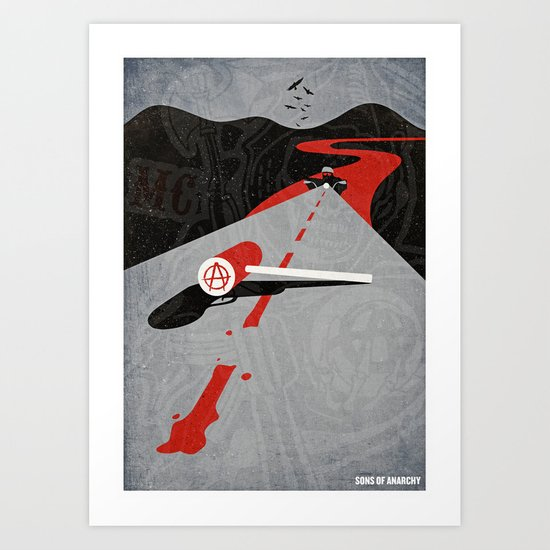 Sons Of Anarchy Print Art Print