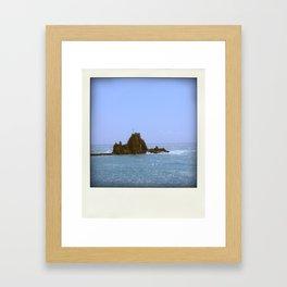 Nowhere cross Framed Art Print
