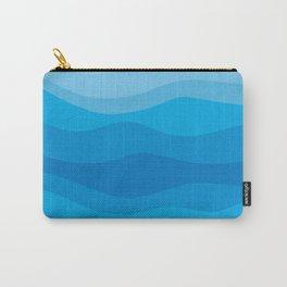 Geometric landscape 09 Carry-All Pouch