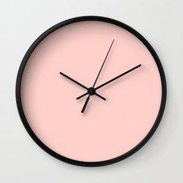 Seashell Pink Wall Clock