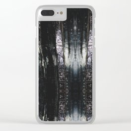 Abstract No 4 Clear iPhone Case