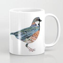 Typographic Sparrow Coffee Mug
