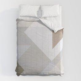 Creame Geometric Comforters