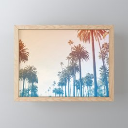 Summer in LA Framed Mini Art Print