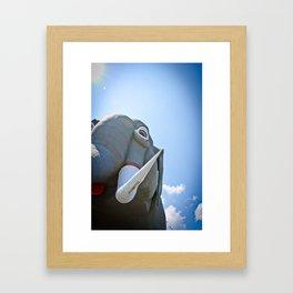 Lucy the Elephant Framed Art Print