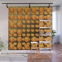 Pumpkins galore Wall Mural