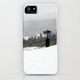 Ovation Killington iPhone Case