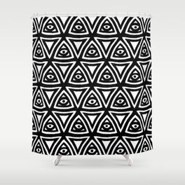 All Seeing Eyes Shower Curtain