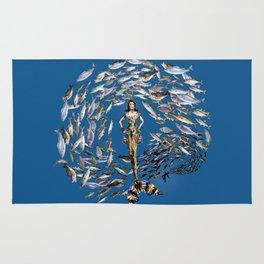 Mermaid in Monaco Rug
