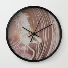 Loose Lines III Wall Clock