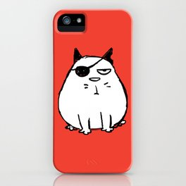 Cat's Tail - Malevolent iPhone Case