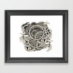 Zennt Framed Art Print