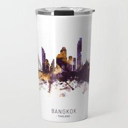 Bangkok Thailand Skyline Travel Mug