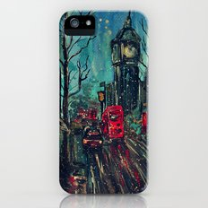 Impressionistic London  iPhone (5, 5s) Slim Case