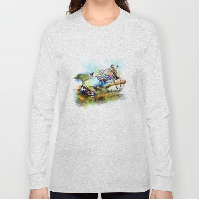 Smash your pattern! Long Sleeve T-shirt