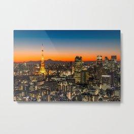 TOKYO 03 Metal Print