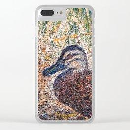 Mr. Mallard Clear iPhone Case