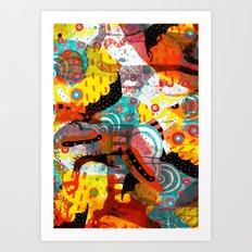 CLASH Art Print