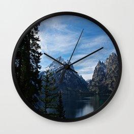Jenny Lake/Tetons Wall Clock